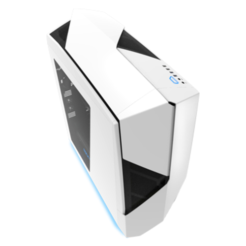 NZXT CASE NOCTIS 450, ATX, USB2.0/3.0, DRIVE BAYS DA 5,25/3,5/2,5, 3X120MM FAN INCLUDED (3 FRONT) + 1X140MM FAN INCLUDED (1 REAR), BIANCO