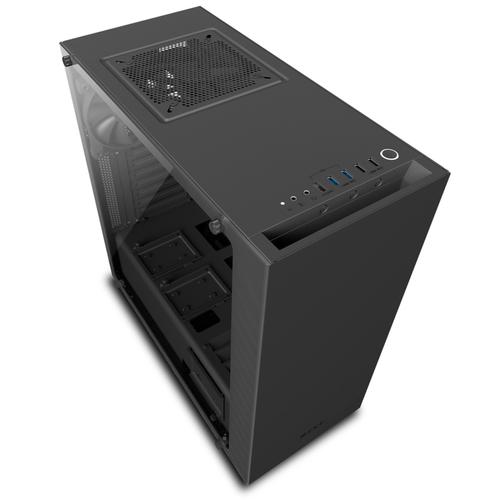 NZXT CASE S340 ELITE, ATX, 7 SLOT DI ESPANSIONE, USB2.0/3.0, 3,5/2,5, 2X120MM FAN INCLUDED (1 TOP/1 REAR), NERO