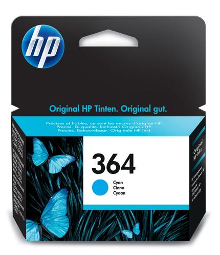HP CARTUCCIA CIANO N.364 PER C5380-C6380-D5460- PROB8550