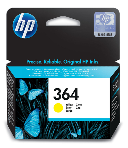 HP CARTUCCIA GIALLO N.364 PER C5380-C6380-D5460- PROB8550