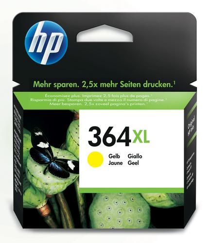 HP CARTUCCIA INCH. GIALLO NR.364XL PER PHOTOSMART C5380-C6380-