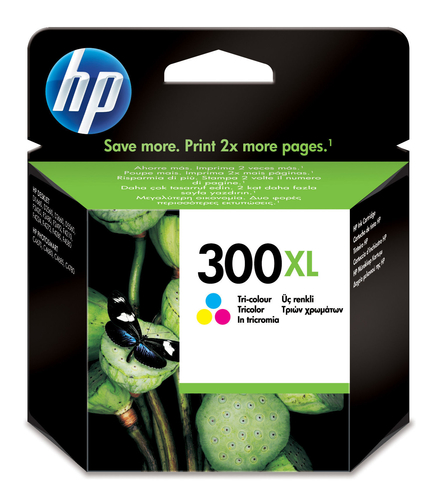 HP CARTUCCIA 300XL TRI-COLOUR VIVERA