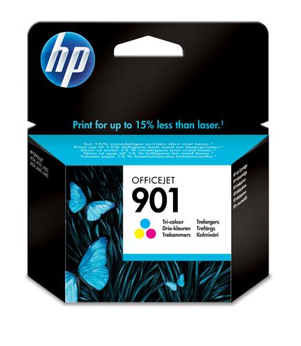 HP CARTUCCIA TRICOLORE N.901 PER OFFICJET J4580