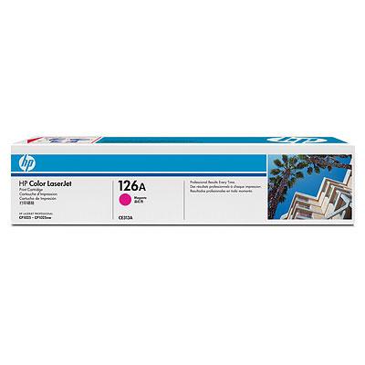 HP TONER MAGENTA 126A 1000 PAGINE PER CLJ CP1025