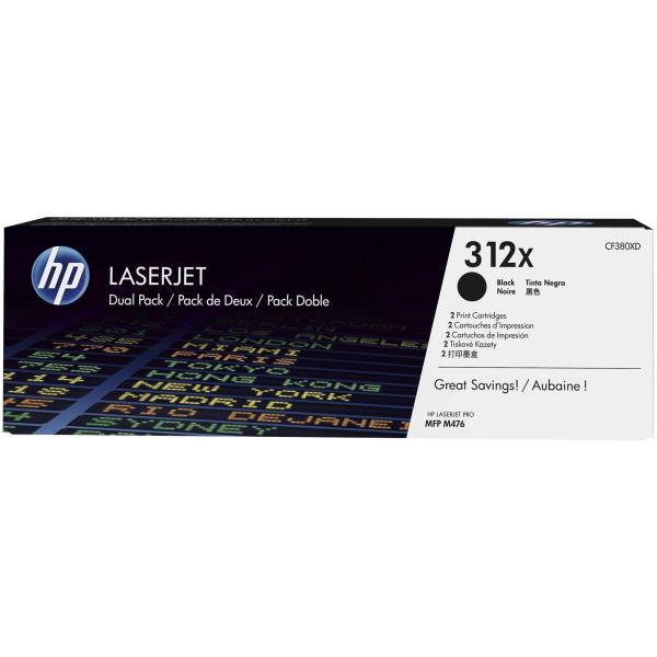 HP TONER NERO 312X 4.400 PAGINE (CONF. N.2 PEZZI)