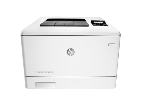 HP STAMP. LASER M452NW A4 COLORE 27PPM 600DPI USB/WIRELESS/ETHERNET