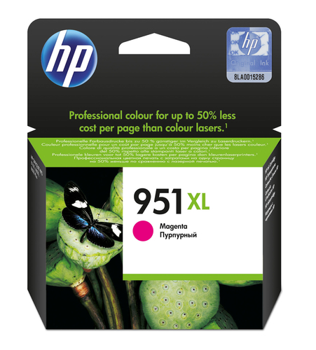 HP CART INK MAGENTA PER OJ PRO8100/8600 1500PAG 951XL