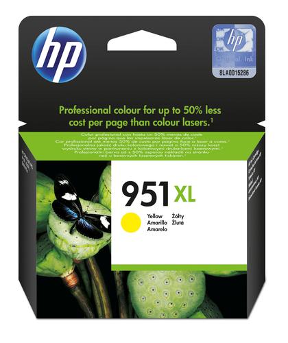 HP CART INK GIALLO PER OJ PRO8100/8600 1500PAG 951XL