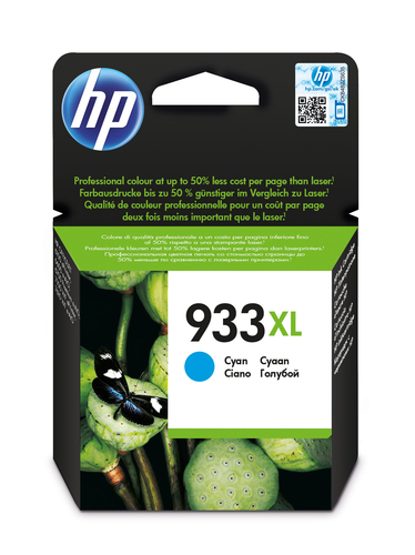 HP CART. INK CIANO 933XL PER OJ 6100/6600/6700