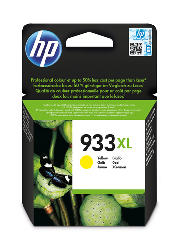 HP CART. INK GIALLO 933XL PER OJ 6100/6600/6700
