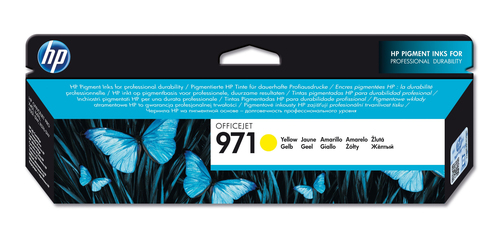 HP CART INK GIALLO PER OJ X576DW/X476DW N.971 2500 PAG