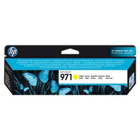 HP CART INK GIALLO PER OJ X576DW/X476DW N.971 2500 PAG
