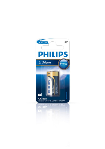 PHILIPS BATTERIA 1PZ MINICELLS A BOTTONE/ AL LITIO 3 VOLT, MAX 1500 MAH