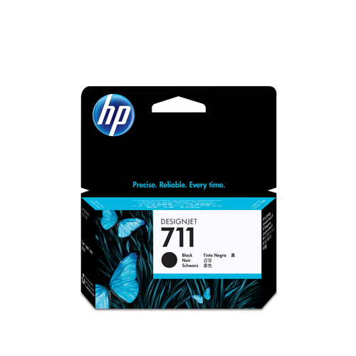 HP CART INK NERO PER PLOTTER T120 - T520 N.711