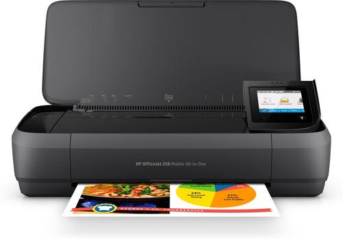 HP MULTIF.INK OJ 250 A4 8PPM 4800X1200DPI USB/WIRELESS PORTATILE STAMPANTE SCANNER COPIATRICE
