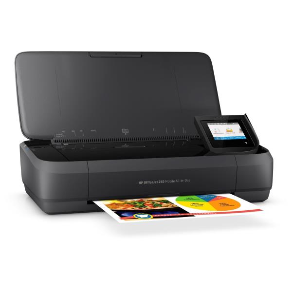 HP MULTIF. INK OJ 250 A4 8PPM 4800X1200DPI USB/WIRELESS PORTATILE STAMPANTE SCANNER COPIATRICE