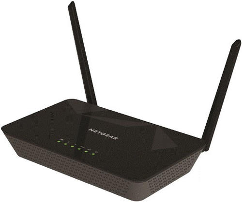NETGEAR ROUTER ADSL2/2+ N300 2 PORTE 10/100