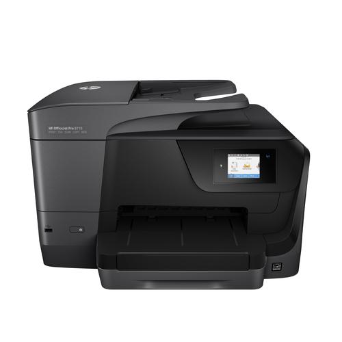 HP MULTIF. INK OJ PRO 8710 A4 22PPM USB/ETHERNET/WIFI STAMPANTE SCANNER COPIATRICE FAX