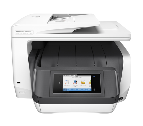 HP MULTIF. INK OJ PRO 8730 A4 24PPM FRONTE/RETRO USB/ETHERNET/WIFI STAMPANTE SCANNER COPIATRICE FAX