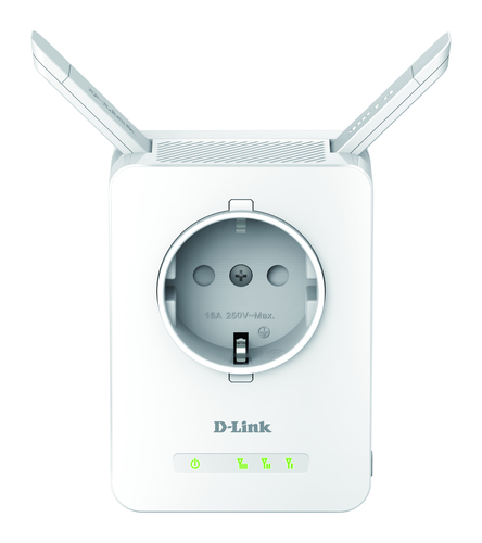 D-LINK RANGE EXTENDER WIRELESS N300 PASS THROUGH 1 PORTA 10/100 ANTENNA ESTERNA WPS