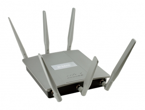 D-LINK ACCESS POINT WIRELESS AC1750 DUAL BAND SIMULTANEO 2 PORTE GIGABIT POE 6 ANTENNE