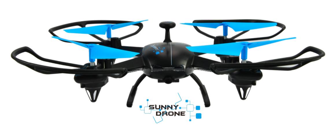 DROMOCOPTER DRONE GIOCO CAMERA 0,3 MP HEADLESS FUNZIONE FOTO/VIDEO MEMORY CARD OPZIONALE 7/8MIN VOLO