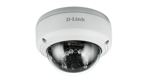D-LINK IP CAMERA VIGILANCE POE MINI BULLET 1,3MPX PROGESSIVE CMOS SENSOR 1280X720 30FPS SUPPORT LOWLIGHT+ IR LED UP TO 30M ICR SUPPORT WDR EPTZ MOTION DETECTION WEATHER PROOF