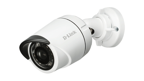 D-LINK IP CAMERA OUTDOOR VIGILANCE POE MINI BULLET 3MPX