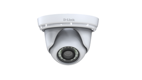 D-LINK IP CAMERA VIGILANCE FULL HD POE MINI DOME OUTDOOR 2MPX PROGESSIVE CMOS SENSOR 1290X1080 30FPS IR LED UP TO 30M EPTZ MOTION DETECTION WEATHER PROOF