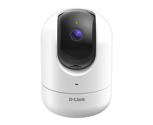 D-LINK IP CAMERA WI-FI INDOOR FULL HD 30FPS, WIDE ANGLE 138 GRADI, VISIONE NOTTURNA, AUDIO A 2 VIE, MICROFONO E SPEAKER INCORPORATI, APP MYDLINK, ALEXA, GOOGLE ASSISTANT