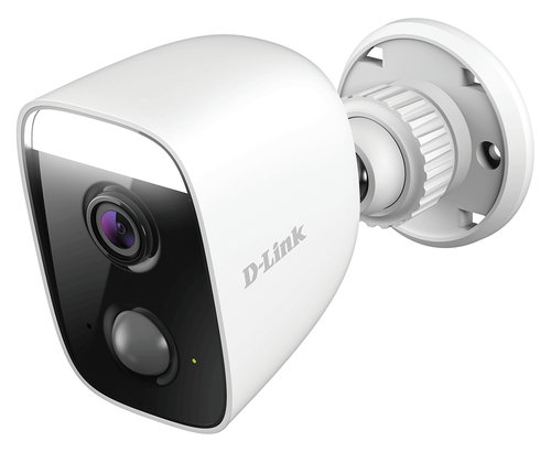 D-LINK IP CAMERA WI-FI INDOOR FULL HD 30FPS, WIDE ANGLE 150 GRADI, VISIONE NOTTURNA, IP65, LUCE A LED, AUDIO A 2 VIE, MICROFONO E SPEAKER INCORPORATI, APP MYDLINK, ALEXA, GOOGLE ASSISTANT