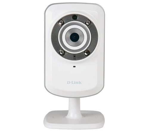 D-LINK DCS-932L IP CAMERA WIRELESS N CON MY D-LINK SUPPORT - VISIONE INFRAROSSI - mydlink
