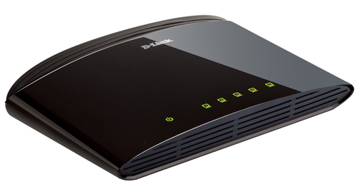 D-LINK SWITCH 5 PORTE 10/100 SOHO