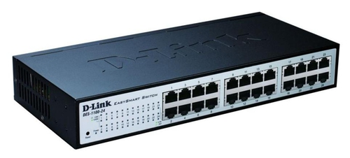 D-LINK SWITCH 24 PORTE 10/100 SMART MANAGED