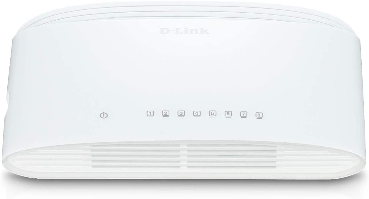 D-LINK SWITCH 8 PORTE GIGABIT SOHO