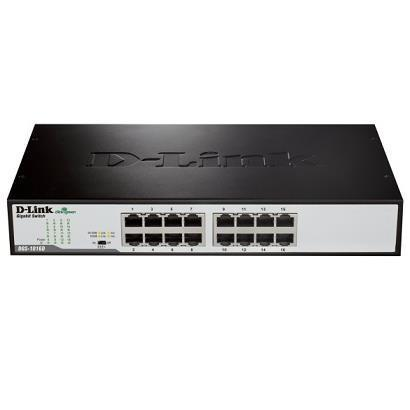 D-LINK SWITCH 16 PORTE GIGABIT SOHO