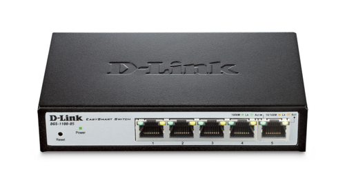 D-LINK SWITCH 5 PORTE GIGABIT SMART MANAGED