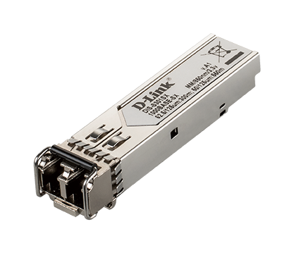D-LINK INDUSTRIAL 1-PORT MINI-GBIC SFP TO 1000BASE SX TRANSCEIVER, DISTANCE 550MT
