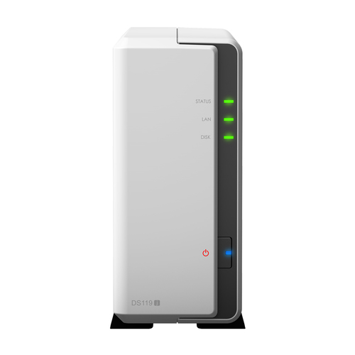 SYNOLOGY NAS 1 BAY HDD 2,5/3,5 GIGALAN USB2.0