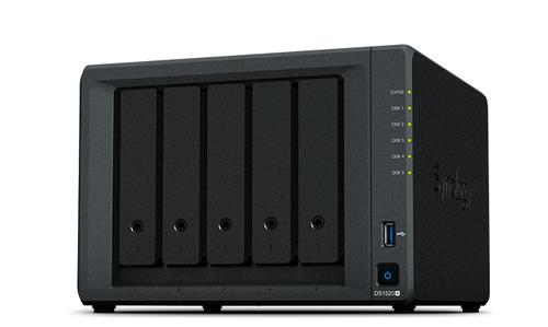 SYNOLOGY NAS DISKSTATION 5 BAY SSD/HDD 2,5/ 3,5 SATA, CPU QUADCORE 2.0GHZ, DDR4 NON ECC 8 GB, 4xGIGABIT LAN RJ45