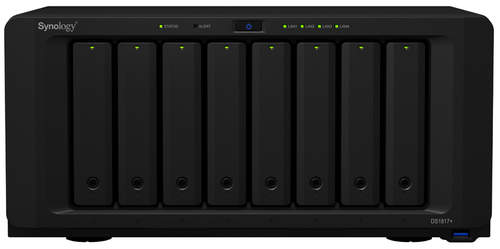 SYNOLOGY NAS 8 BAY SSD/HDD 2,5/3,5 SATA 2GB DDR3 GIGALAN USB3.0 PCIE2.0