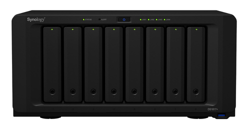 SYNOLOGY NAS 8 BAY SSD/HDD 2,5/3,5 SATA 8GB DDR3 GIGALAN USB3.0 PCIE2.0