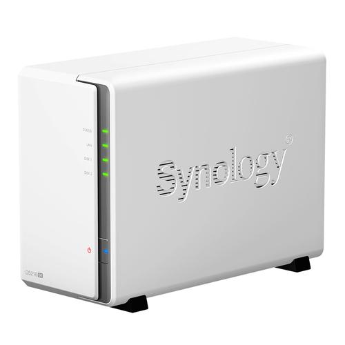 SYNOLOGY NAS 2 BAY HDD 3,5 SATA2 MAX 8TB 256MB DDR3 GIGALAN USB2.0