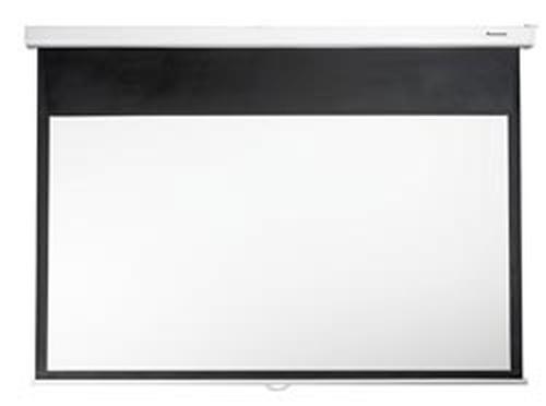 OPTOMA TELO VIDEOPROIETTORE DS-9084PMG+ A MURO MANUALE 186 CM X 105 CM