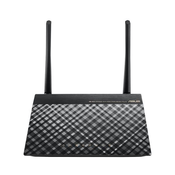 ASUS ROUTER ADSL2/2+ 150N 4 PORTE 10/100 FIREWALL INTEGRATO SUPPORTO VPN