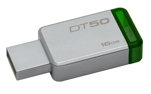 KINGSTON PEN DISK 16GB USB3.0 GEN1  DATATRAVELER 50 METAL CASE