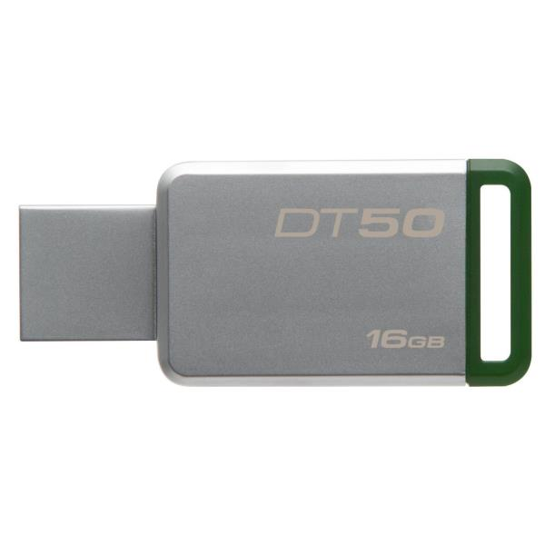 KINGSTON PEN DISK 16GB USB3.0 GEN1  DATATRAVELER 50 METAL CASE