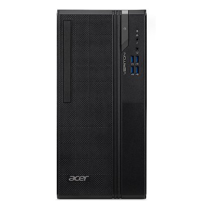 ACER PC TOWER VES2740G i5-10400 8GB 256GB SSD DVD-RW WIN 10 HOME