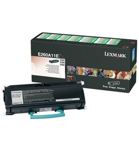 LEXMARK TONER NERO RETURN PROGRAM DA 3.5K PER E26X-E36X-E46X