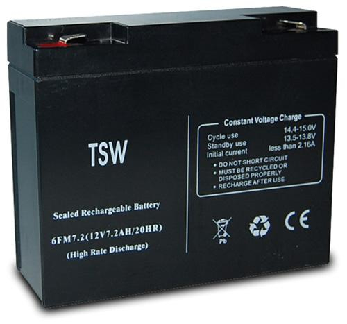 TECNOWARE BATTERIA 12V 7,2AH PER UPS EVO RT 2.0/3.0